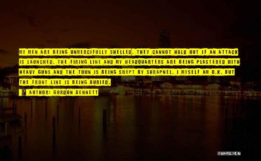 K Town Quotes By Gordon Bennett
