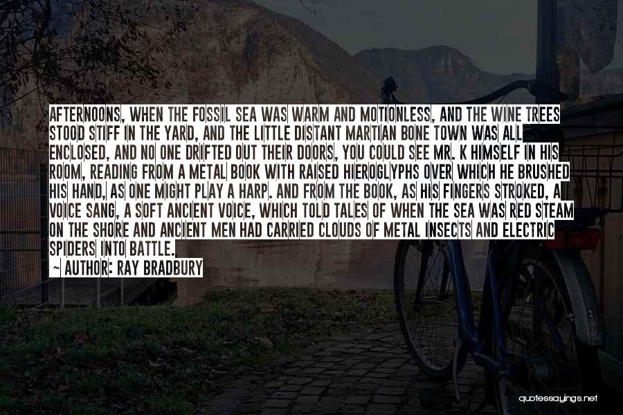 K Town Quotes By Ray Bradbury