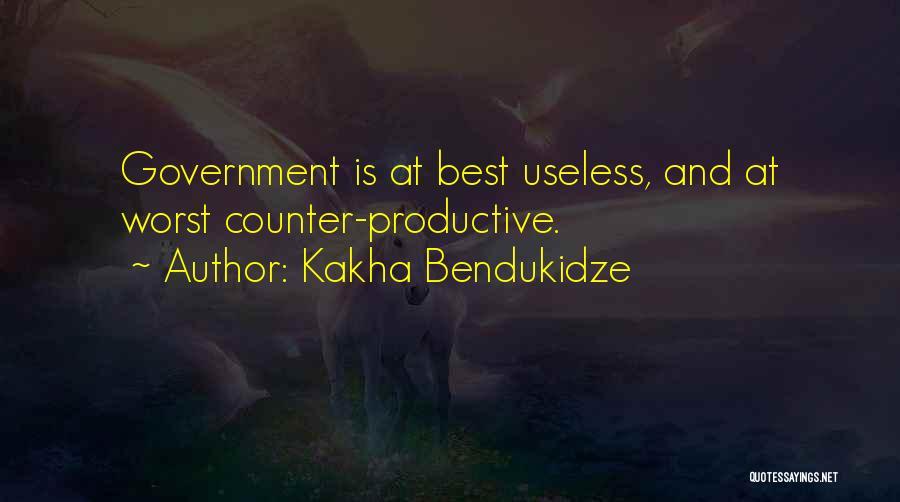 Kakha Bendukidze Quotes 739277