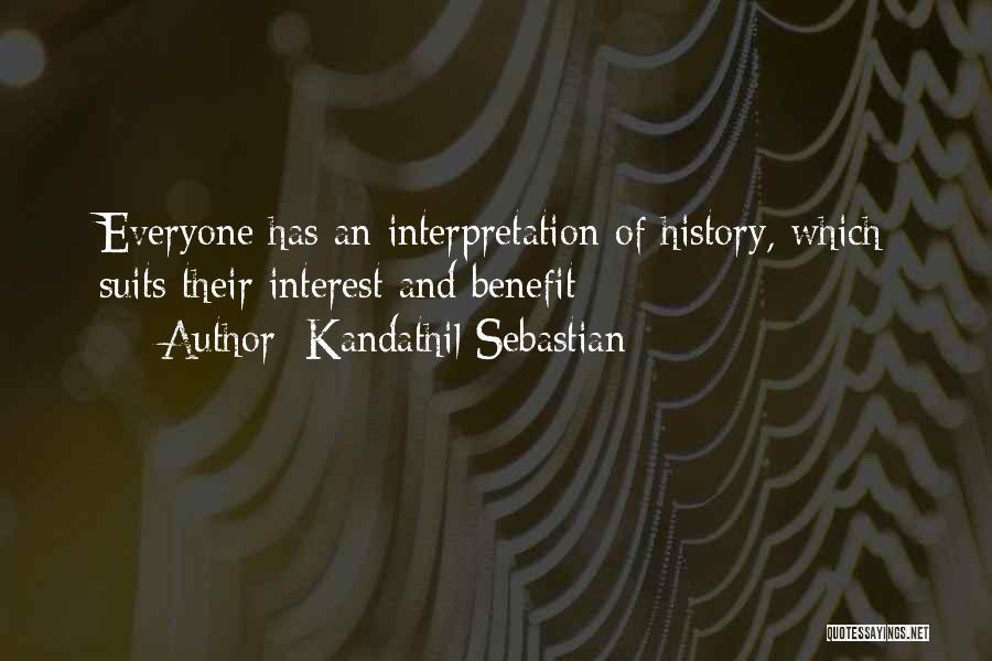 Kandathil Sebastian Quotes 425091