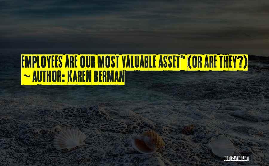 Karen Berman Quotes 258928