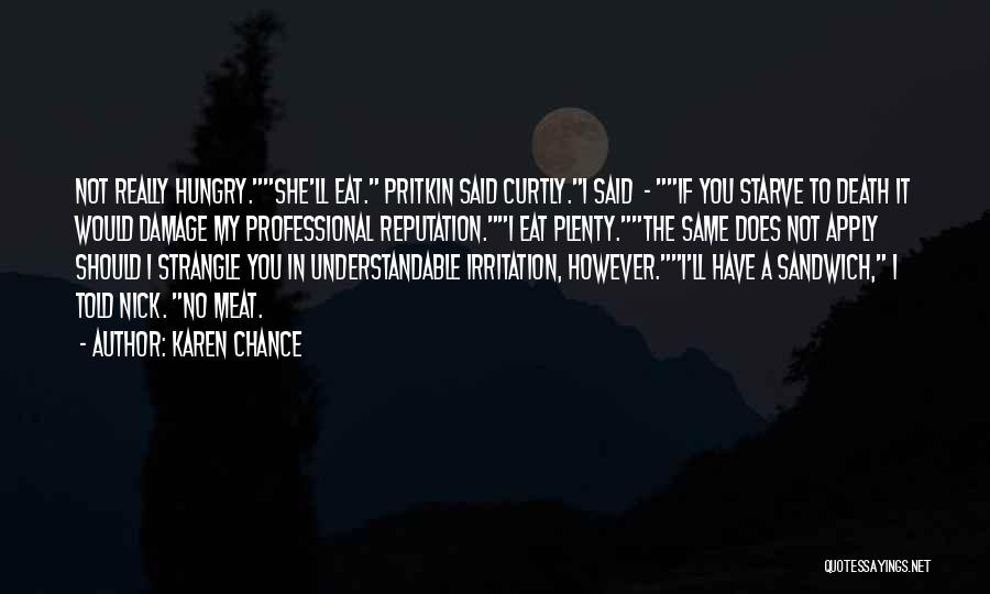 Karen Chance Quotes 1206091