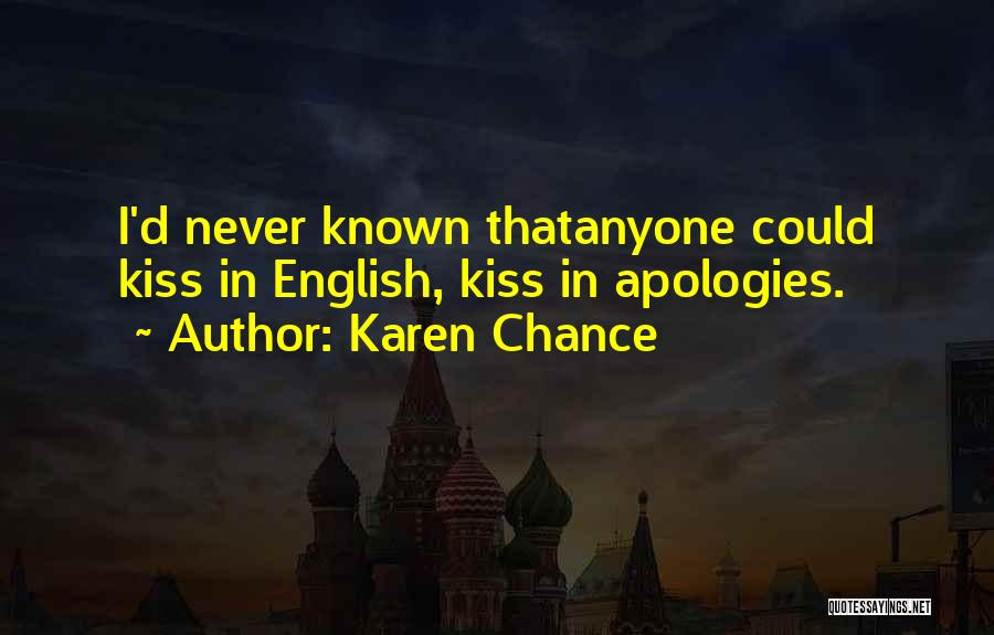 Karen Chance Quotes 1272788