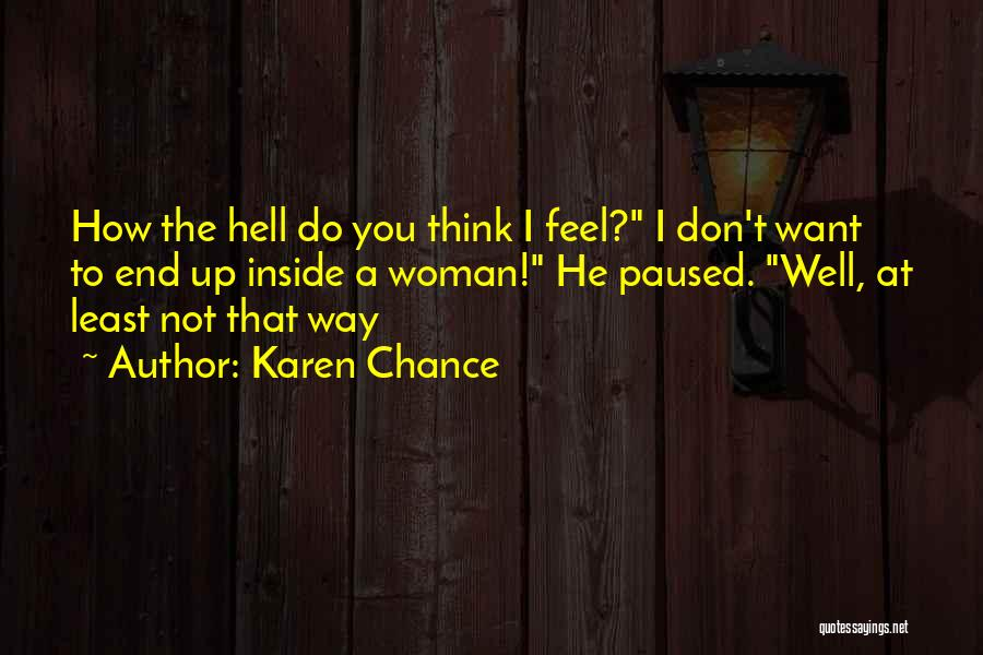 Karen Chance Quotes 1279114