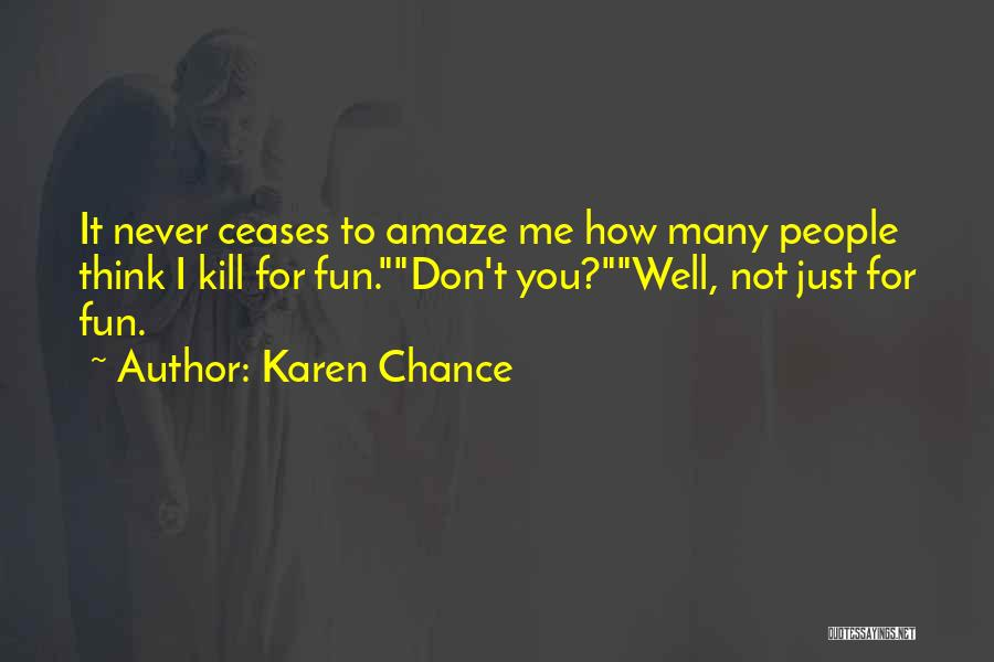 Karen Chance Quotes 1580808