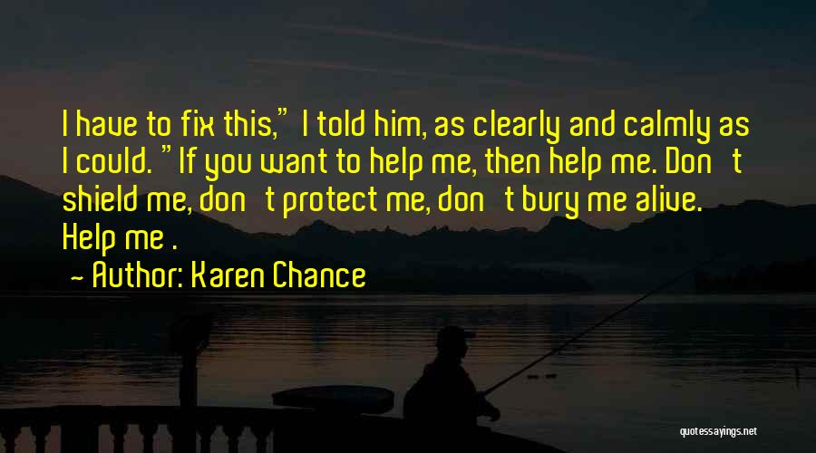 Karen Chance Quotes 1670676