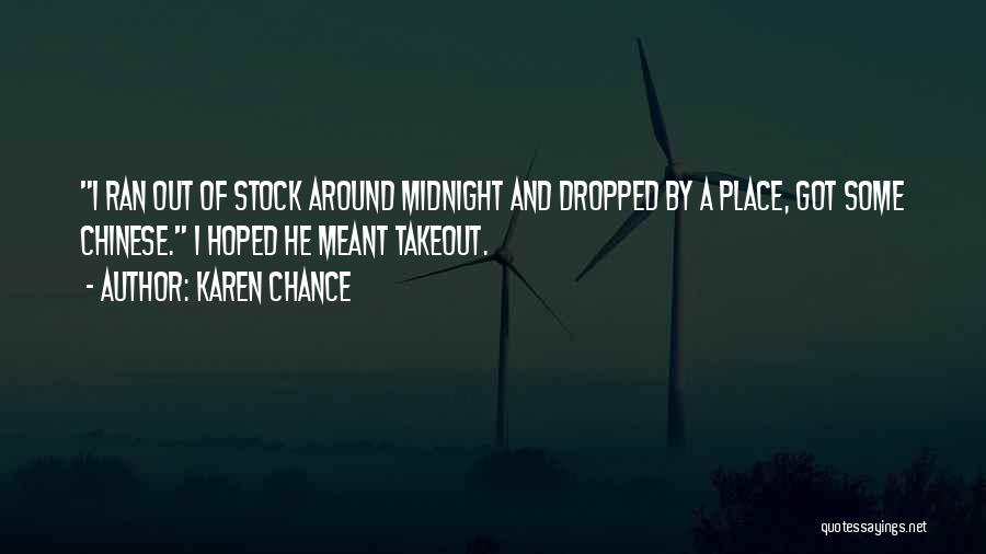 Karen Chance Quotes 1770483