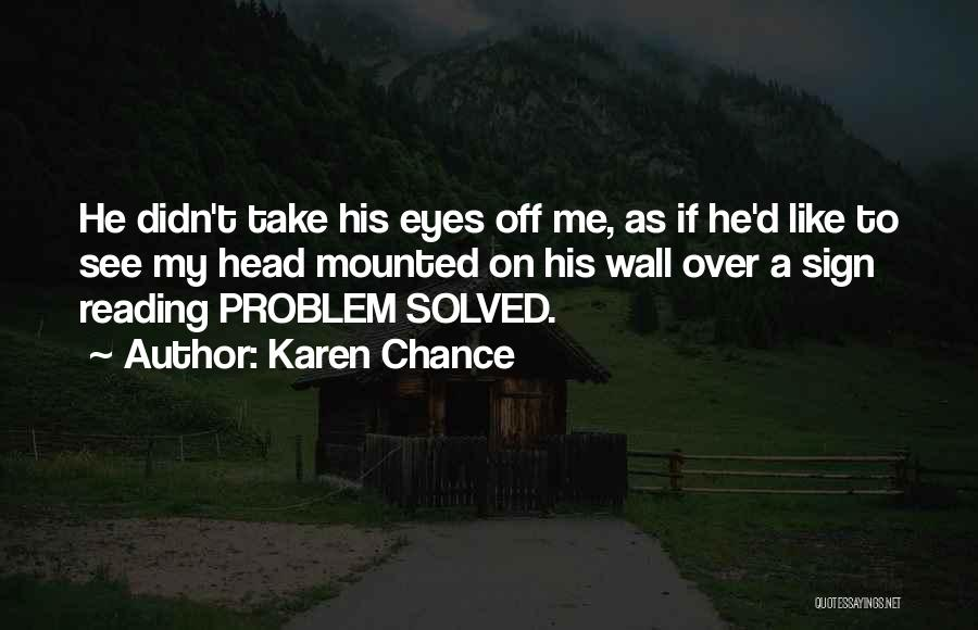 Karen Chance Quotes 223715