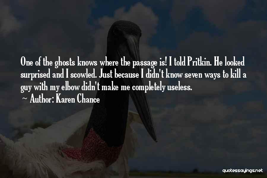 Karen Chance Quotes 253357