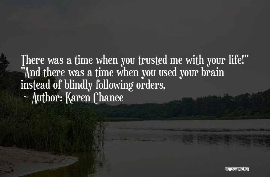 Karen Chance Quotes 349333