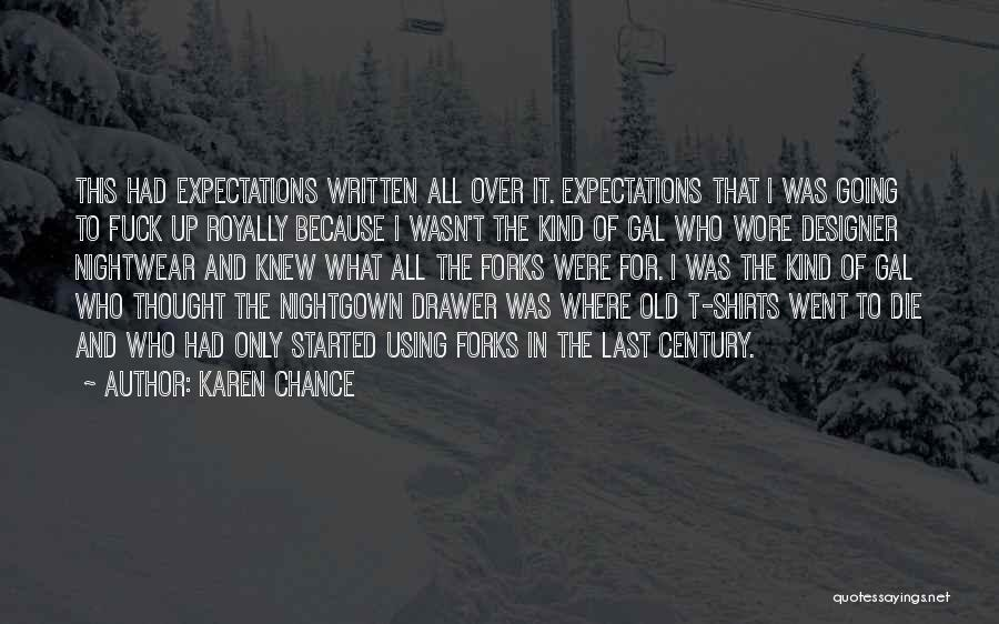 Karen Chance Quotes 725721