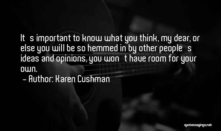 Karen Cushman Quotes 1483839