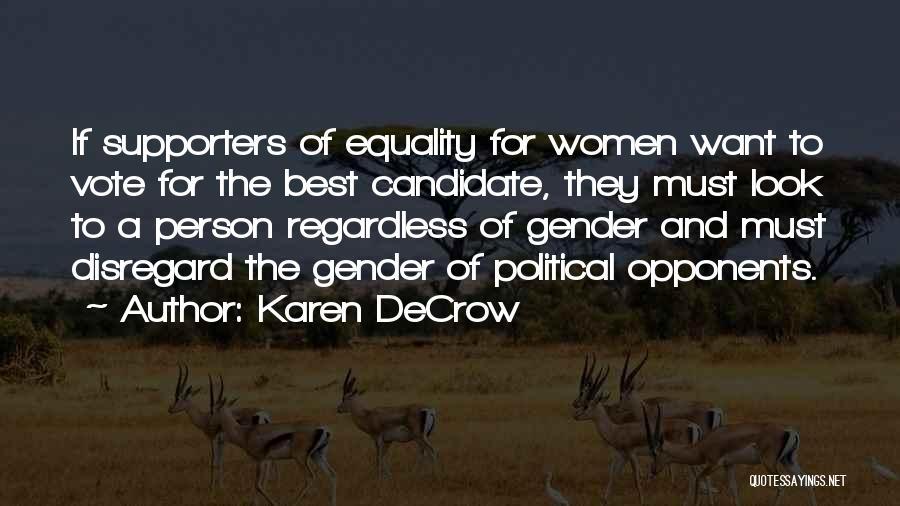 Karen DeCrow Quotes 1845867