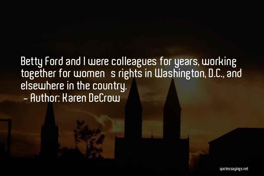 Karen DeCrow Quotes 2008869