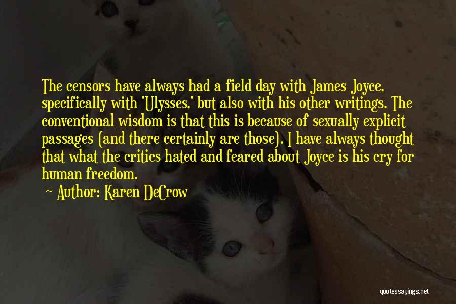 Karen DeCrow Quotes 714628