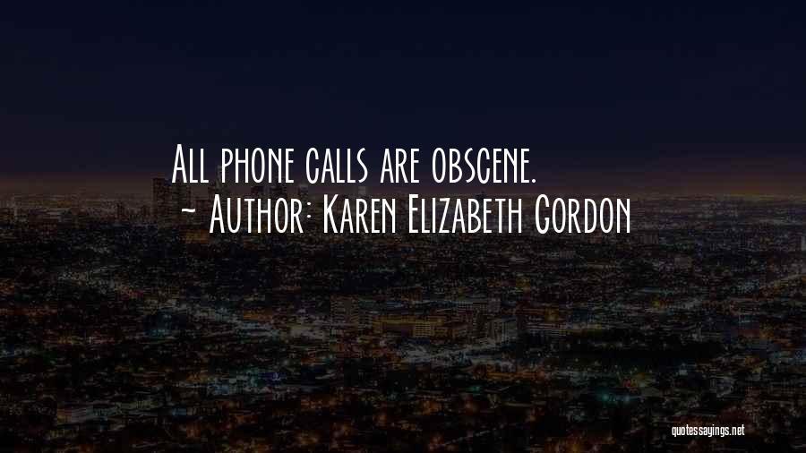 Karen Elizabeth Gordon Quotes 488947