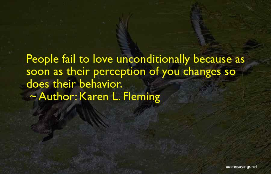Karen L. Fleming Quotes 989374
