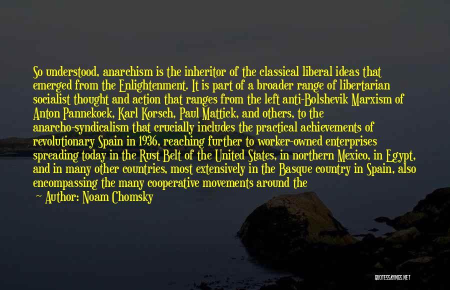 Karl Korsch Quotes By Noam Chomsky