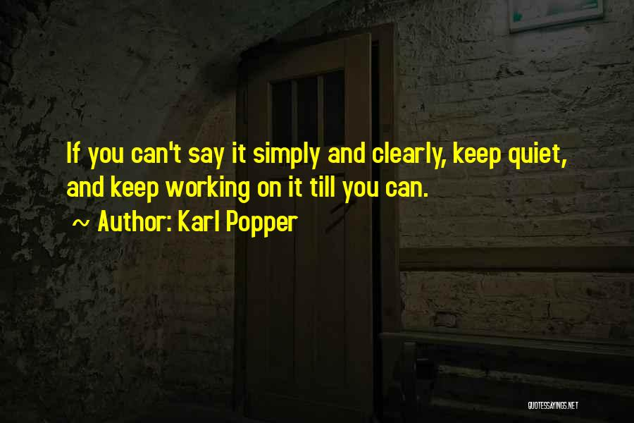 Karl Popper Quotes 1070273