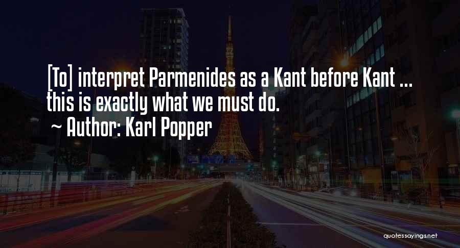 Karl Popper Quotes 551830
