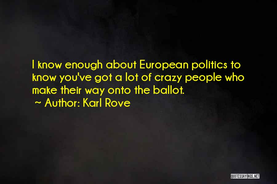 Karl Rove Quotes 990812