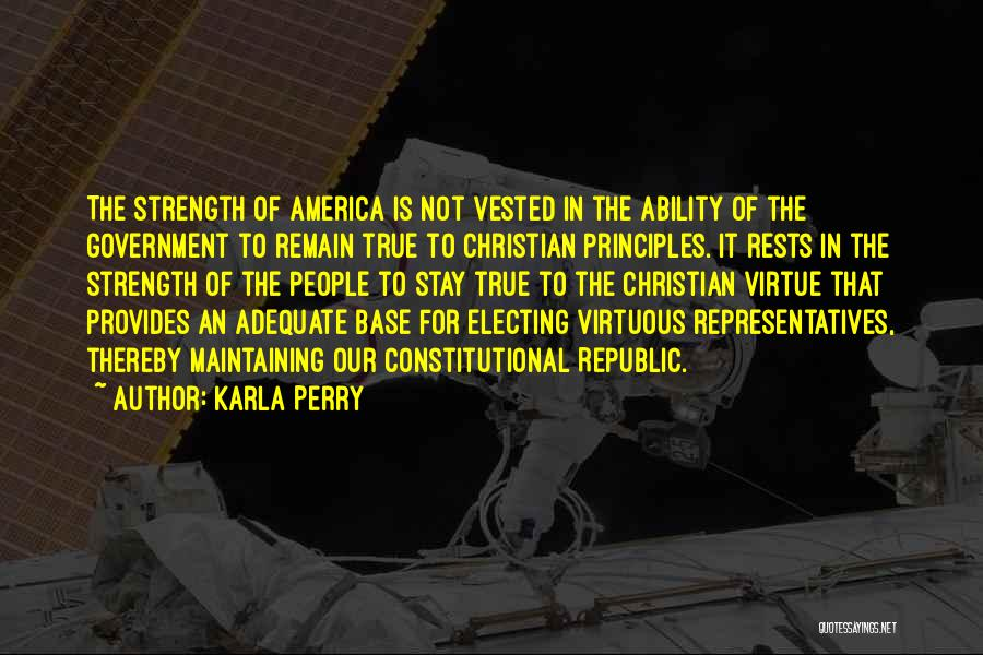 Karla Perry Quotes 849360