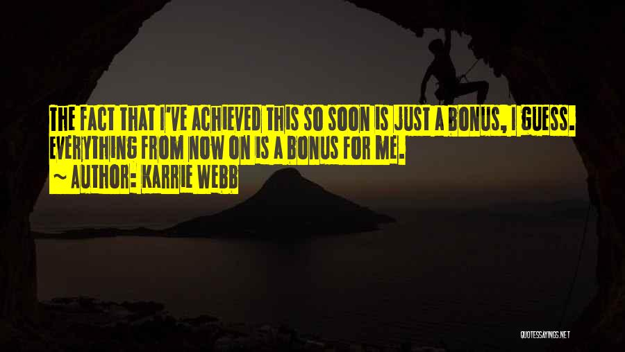 Karrie Webb Quotes 130664