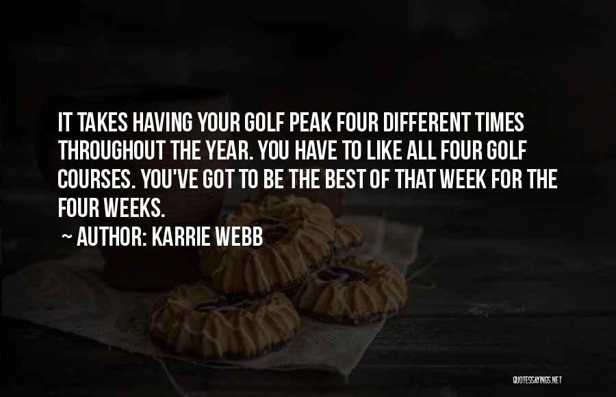 Karrie Webb Quotes 1585253
