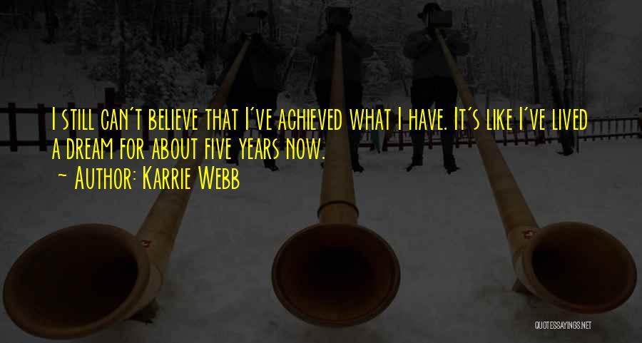Karrie Webb Quotes 653908