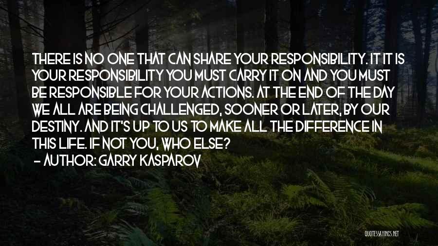 Kasparov Best Quotes By Garry Kasparov