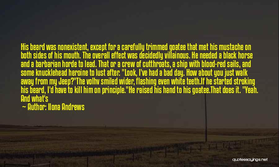 Kate Daniels Funny Quotes By Ilona Andrews