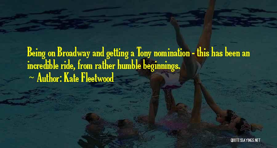 Kate Fleetwood Quotes 911677
