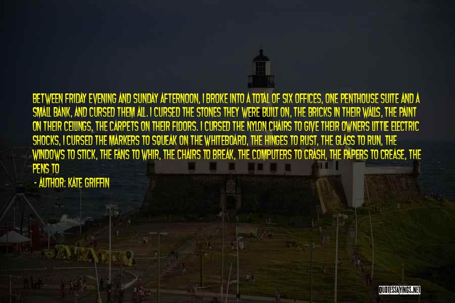 Kate Griffin Quotes 1194578