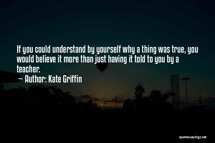 Kate Griffin Quotes 253985