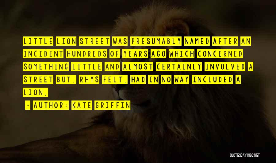 Kate Griffin Quotes 822448