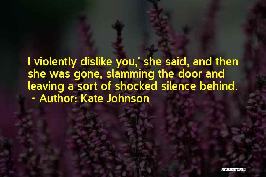 Kate Johnson Quotes 1174473