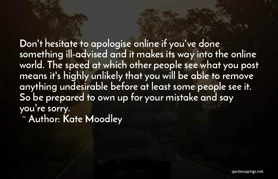 Kate Moodley Quotes 1959076