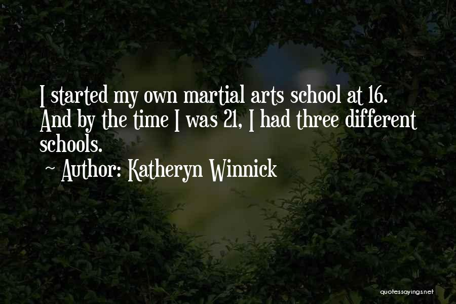 Katheryn Winnick Quotes 1738681