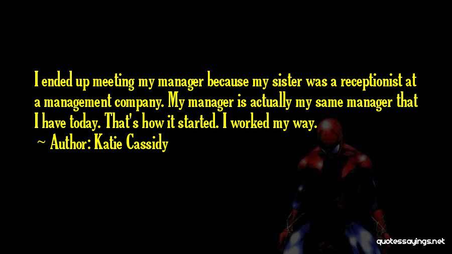 Katie Cassidy Quotes 1657809