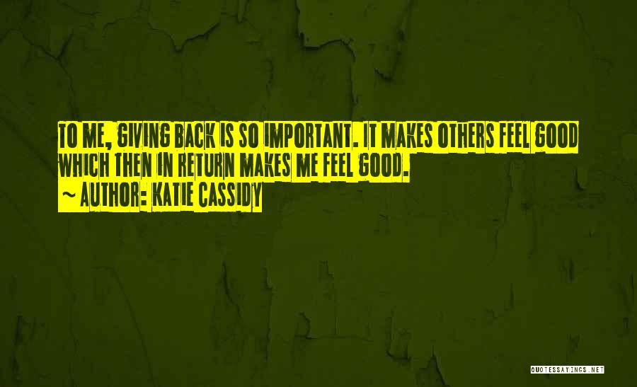 Katie Cassidy Quotes 1672601