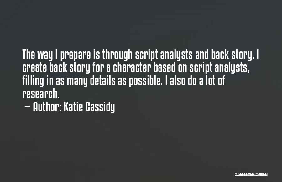 Katie Cassidy Quotes 795816