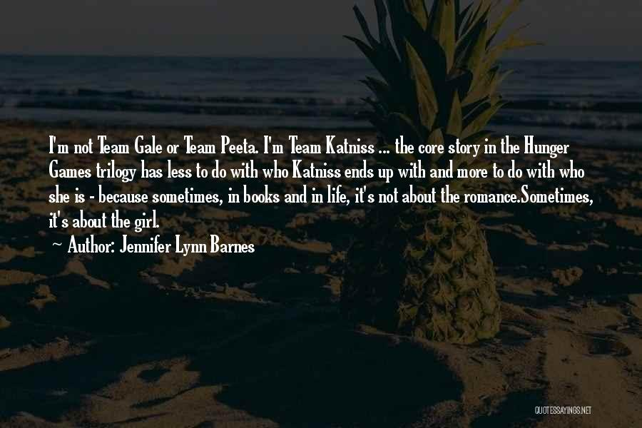Katniss Quotes By Jennifer Lynn Barnes
