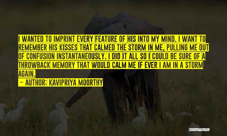 Kavipriya Moorthy Quotes 1641233