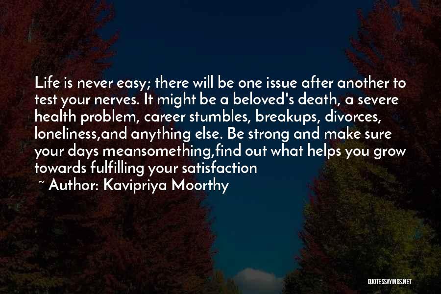 Kavipriya Moorthy Quotes 2162414