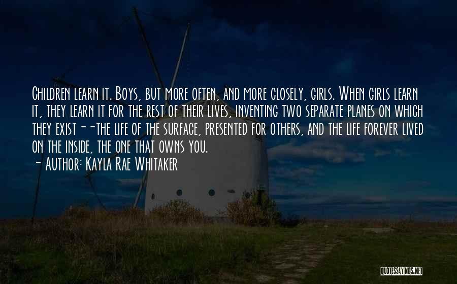 Kayla Rae Whitaker Quotes 788631