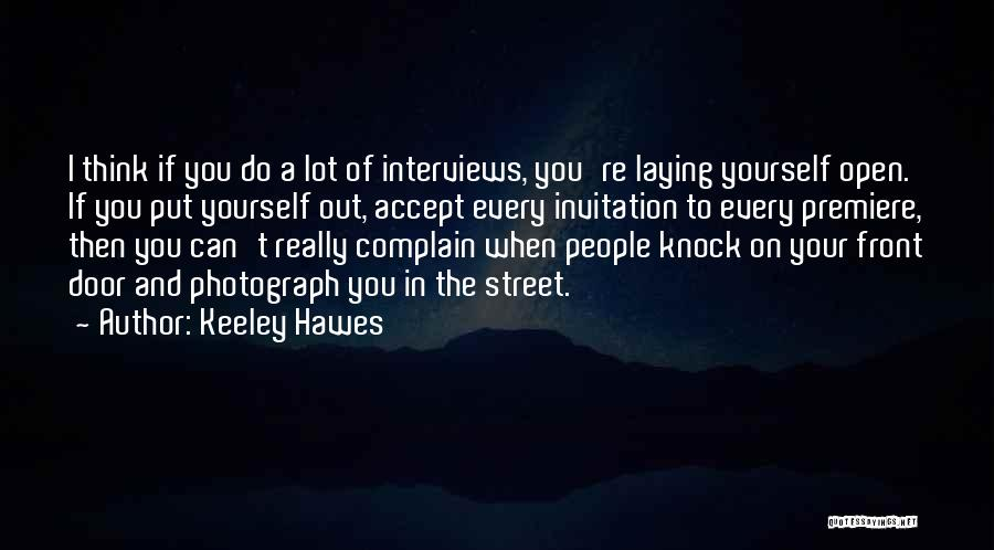 Keeley Hawes Quotes 396827
