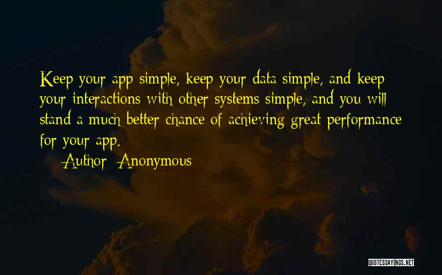 Keep Achieving Quotes By Anonymous