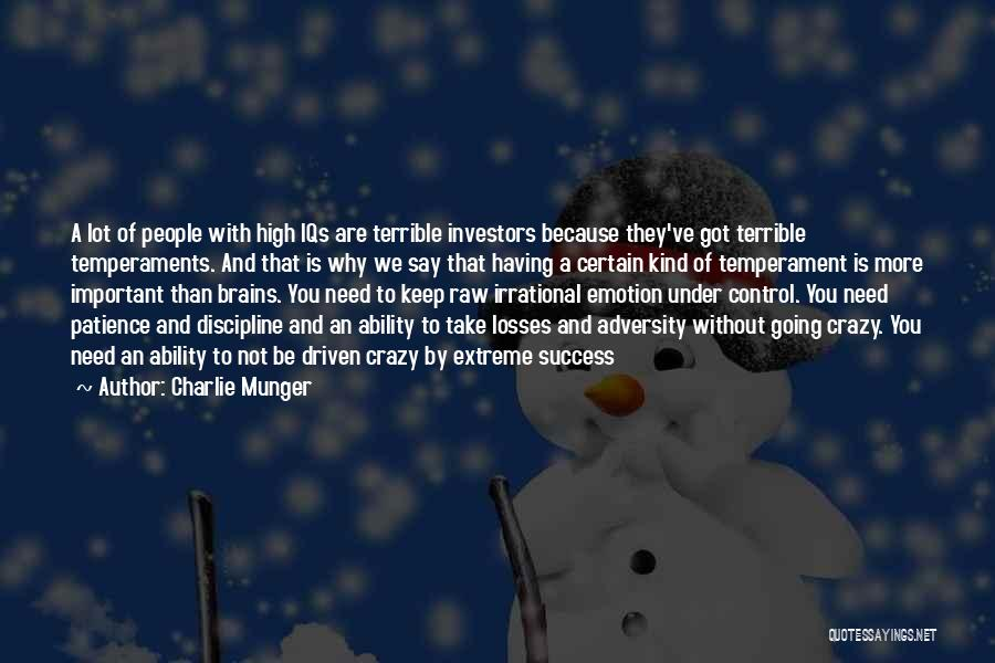Keep Going Success Quotes By Charlie Munger