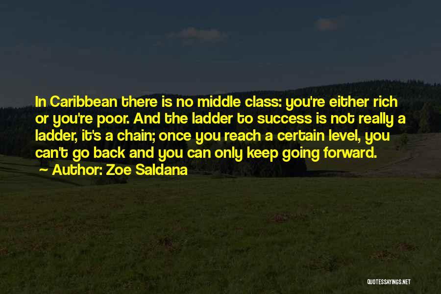 Keep Going Success Quotes By Zoe Saldana