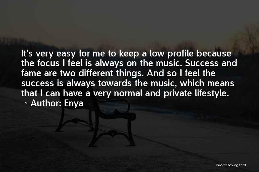 Keep It Private Quotes By Enya
